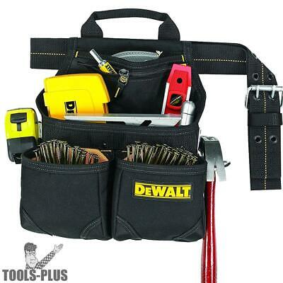DeWalt DG5433 10-Pocket Carpenter's Nail and Tool Bag New