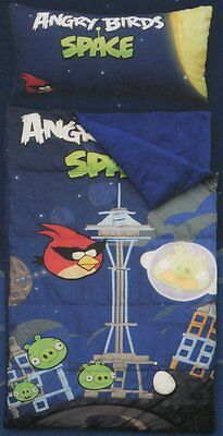 "Angry Birds ""Space"" Slumber Bag with Pillow"