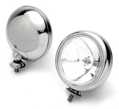 Bmw Mini Spot Lights Chrome - For Bmw Mini One Cooper S Or Cabriolet