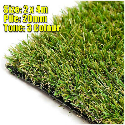 20mm Artificial Grass (2m x 4m) Synthetic Grass