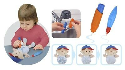 K's Kids What-to-Wear Water Doodle Fun Wayne Soft Toy with Water Pen