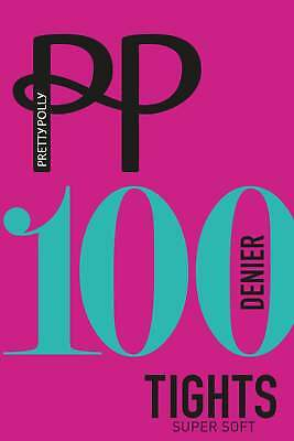 Pretty Polly Supersoft 100 Denier Opaque Tights