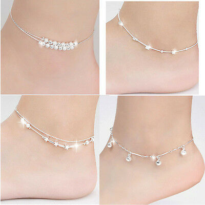 Womens Costume Jewellery Womens Anklets Ladies Chain Ankle Bracelet Foot Anklets