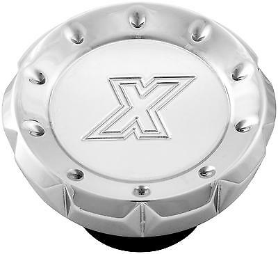 Xtreme Machine 0210-2020-CH Gas Cap VCut - Chrome