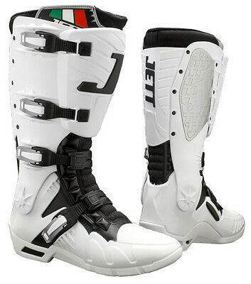 Jett 92.0005-WTS J1 Boot Replacement Upper with Hardware White Sm