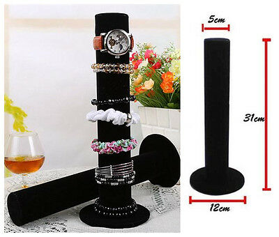 Velvet Watches Jewelry Holders Bangle Bracelet Jewelry Display Stand Organizers