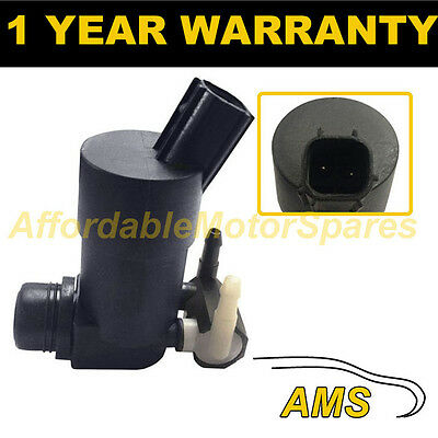 For Ford Focus Mk2 2004- Front & Rear Twin Outlet Windscreen Washer Water Pump