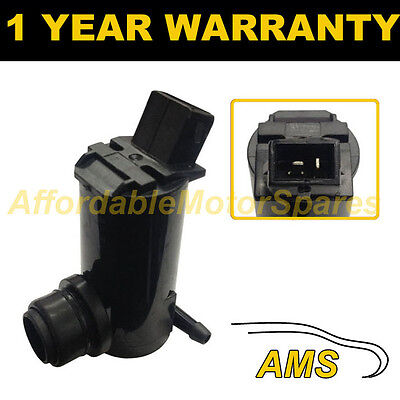 For Ford Transit 2000- Front Single Outlet Windscreen Washer Water Pump