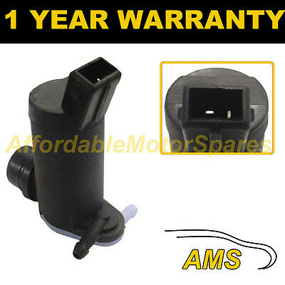 For Ford Fiesta Mk4 1995-02 Front Rear Twin Outlet Windscreen Washer Water Pump
