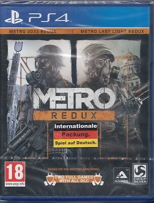 Metro Redux - PS 4 - Sony PlayStation 4 - Neu & OVP