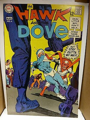 Hawk and Dove #4, 3/1969. Gil Kane art.  NM-