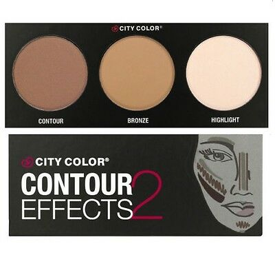 City Color Contour Effects 2 Palette 2 - Contour, Bronze & Highlight (FREE SHIP)