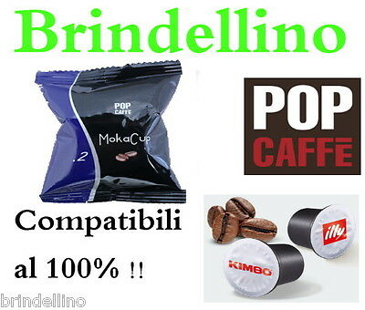 Kit Assaggio 25 Capsule Caffe Pop Dolce Compatibil Uno System Indesit Kimbo Illy