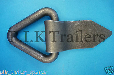 FREE P&P* 12 x Heavy Duty Triangular Lashing Rings Tie Down Trailers Truck Lorry