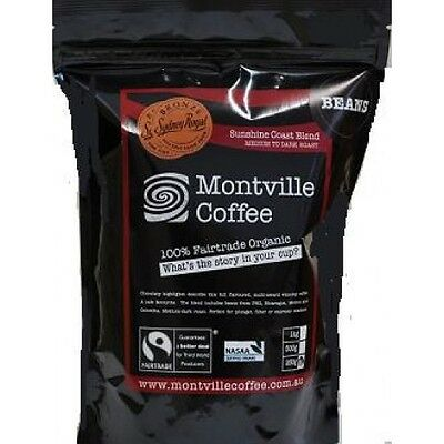 Montville Coffee Organic Sunshine Coast Blend Plunger/ Filter Grind 250g