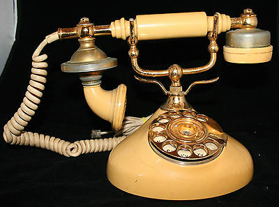 Vintage Retro Rotary Dial Telephone - Working