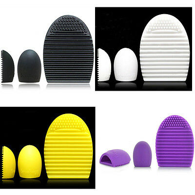 Cleaning Cosmetic Makeup Brush Tool Silicone Foundation Cleaner Finger Glove Hot