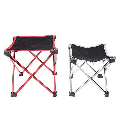 Outdoor Portable Folding Seat Stool Fishing Camping Garden Beach Chair with Bag