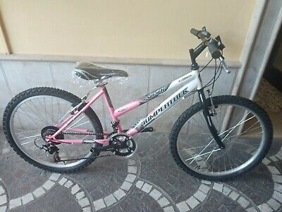 Bicicletta 24 Mountain Bike Donna Frejus 18 Velocita Colore Rosa