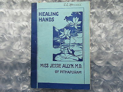 Old Circa 1930's Canada Missions Booklet Healing Hands South India