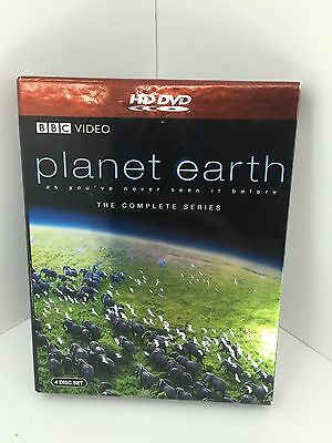 Planet Earth The Complete Series, HD DVD, BBC video 4 disc set