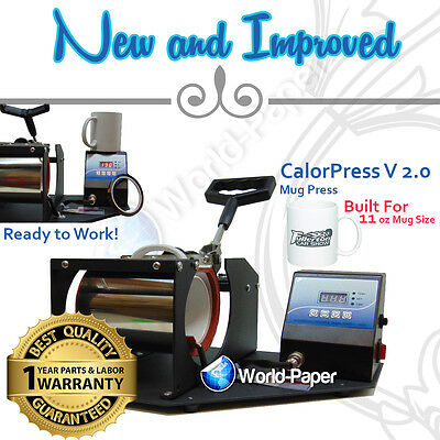 Mug Press Heat Transfer  Sublimation Machine for Coffee 11oz Mugs
