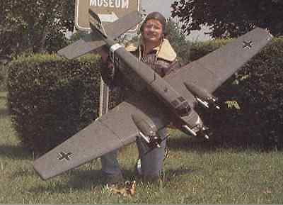 Junkers JU52 -3 M  84  inch Wing Giant Scale RC Model AIrplane Printed Plans
