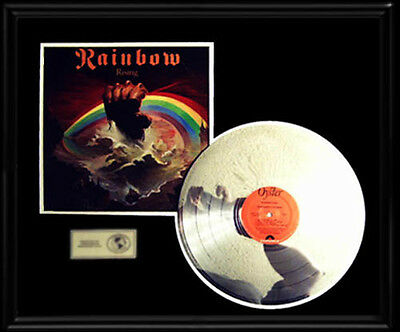 Rainbow Rising Rare Gold Record Platinum  Disc Lp Ritchie Blackmore Ronnie J Dio