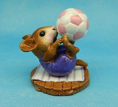 ROLY POLY CIRCUS JUGGLER by Wee Forest Folk, WFF#M-260, Mouse Expo Event Purple