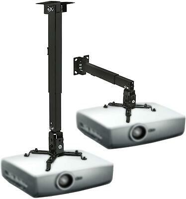 Universal tilt projector bracket ceiling wall mount Support up to 20kgs/44Ibs
