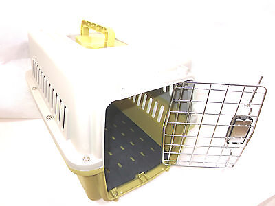 Pet safe  approved pet carrier Small Dog/Cats & Rabbits Lime