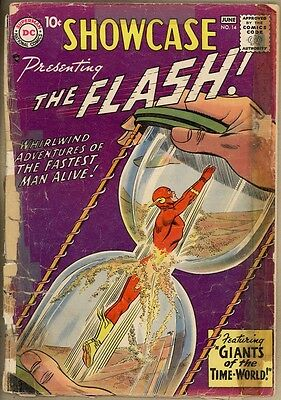 Showcase #14 - PR - 4th Silver Age Flash