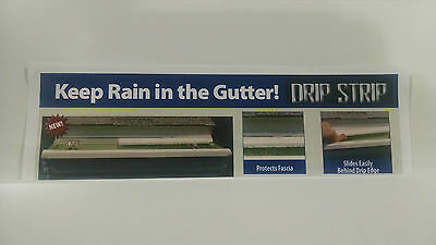 DRIP STRIP... Gutter Machine, Gutter Protection, Seamless Gutter, Rain Gutter