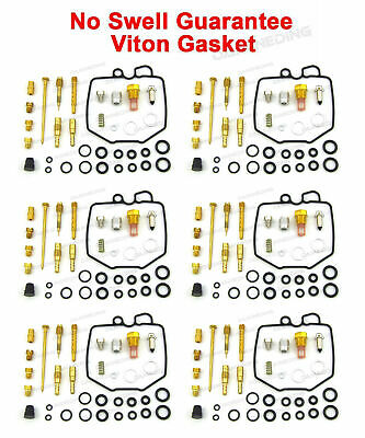 6 X Carburetor Carb Repair Rebuild Kit 78-83 Honda Cbx1000 Cbx 1000 Cbx1050