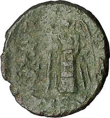 Lysimacheia in Thrace 309BC RARE Ancient Greek Coin Young Hercules NIke i51708