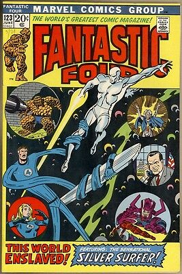 Fantastic Four #123 - VF-