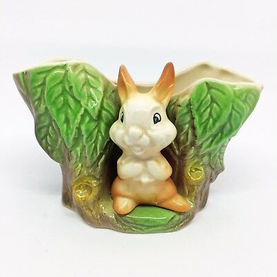 Vintage, Fauna Planter by Eastgate Pottery. Baby Bunny ~ Kitsch C1950