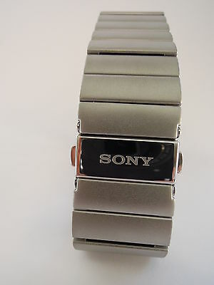 Sony SWR510 Metal Wrist Strap - Genuine Stainless Steel - for Smartwatch 3 SWR50