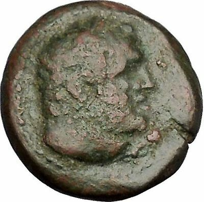 Sardes in Asia Minor 133BC Ancient Greek Coin Nude Apollo Young Hercules  i51755