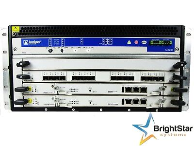 Juniper MX240-PREMIUM-AC Router 2x RE-S-2000-4096 | 1x MPC-3D-16XGE-SFPP MX240