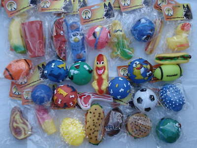 QUALITY CHEAP squeaky toys (50)     £1 LINE ALL DAY!!!!