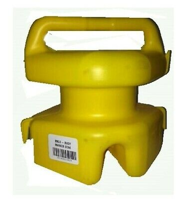 Seahorse H/D Lokstak Multi Float Connectable Marker Bouy/Crab Pot Float-Yellow