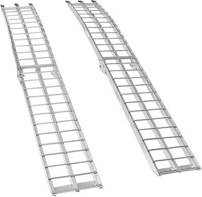 Moose Racing AR-07M Arched Aluminum Folding Ramp 12in x 90in