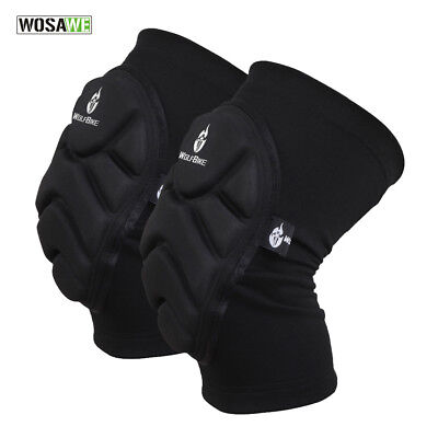 MMA Volleyball Wrestling Padded Knee Pads Protectors Martial Art Workwear
