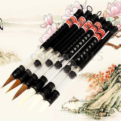 S/M/L Water Brush Chinese Japanese Calligraphy Reusable Adjusted Pen Practice