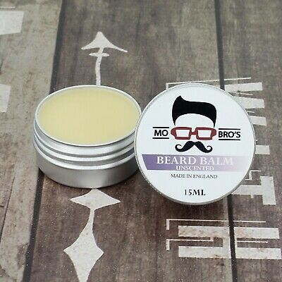 Mo Bro's - Unscented Beard Conditioning Balm 15ml Made In England