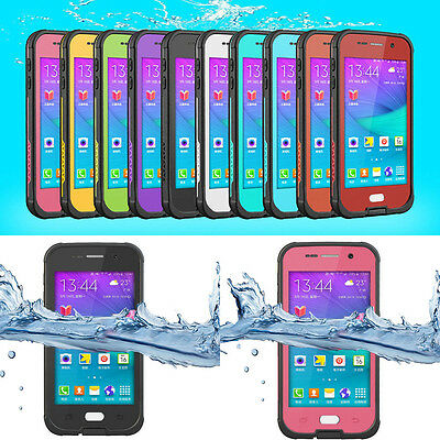 Swimming Waterproof Shockproof  Fingerprint Case Cover for Samsung Galaxy S6