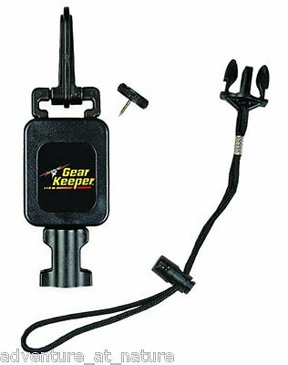 Gear Keeper Wading Staff Tether Combo Retractor Lanyard Accessory RT4- 1072