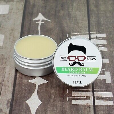 Mo Bro's - Sweet Mint Beard Conditioning Balm 15ml Made In England