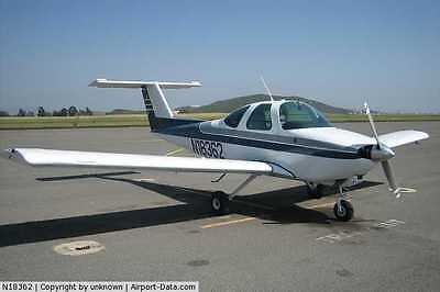 1/4 Scale Beechcraft Skipper  90 inch Giant Scale RC AIrplane Printed Plans